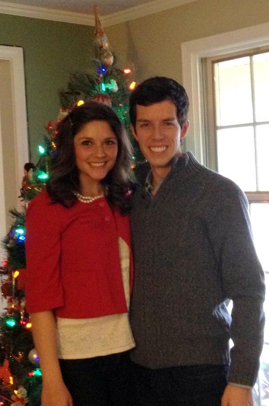 Brian and Tara Christmas 2012