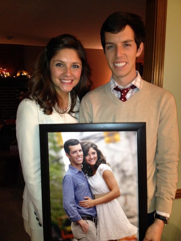 Brian and Tara gift