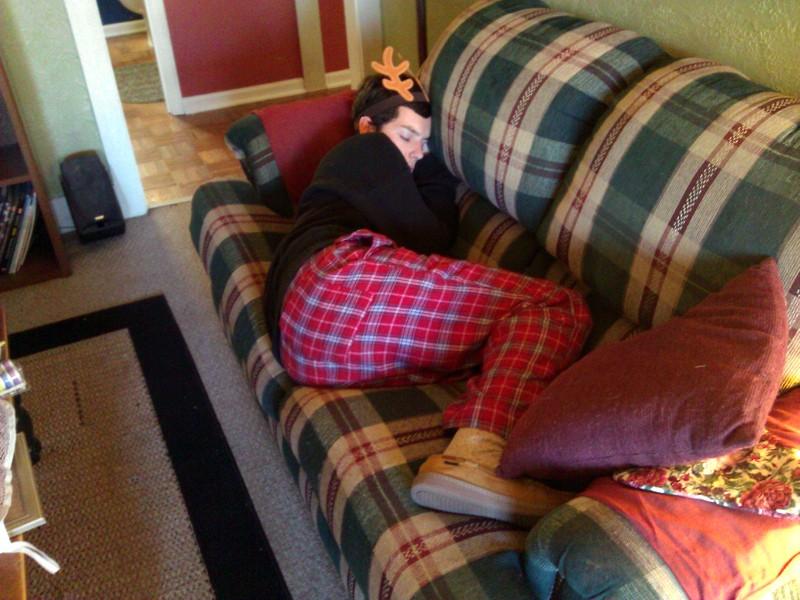 Brian napping 1