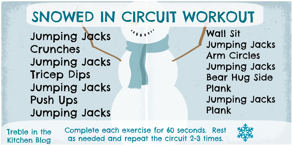 Snowed in Circuit Workout