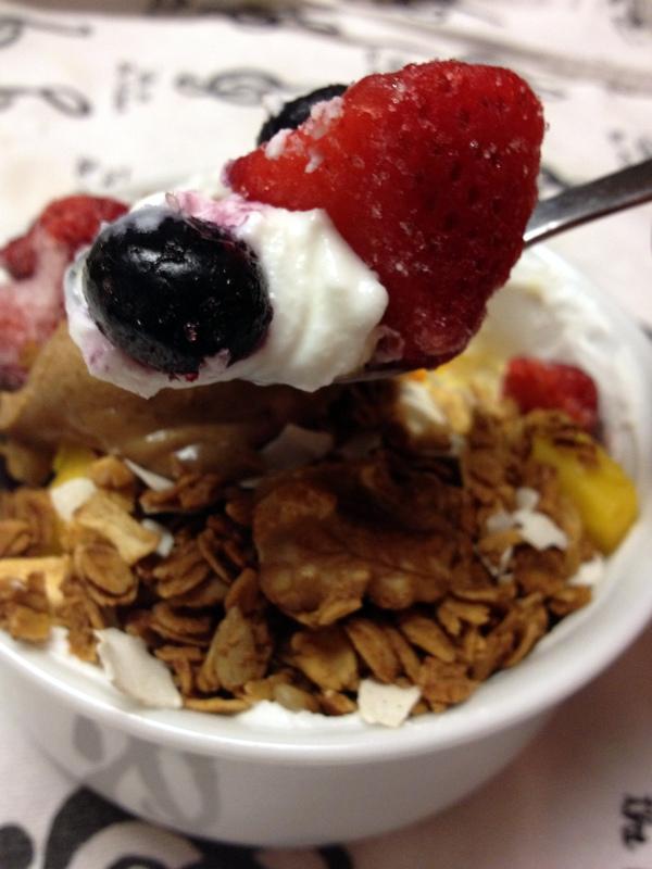 breakfast yogurt bowl 1
