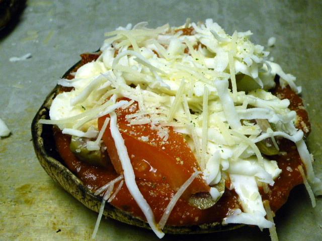 mushroom pizza 5
