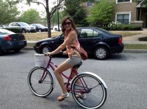 tara bike riding