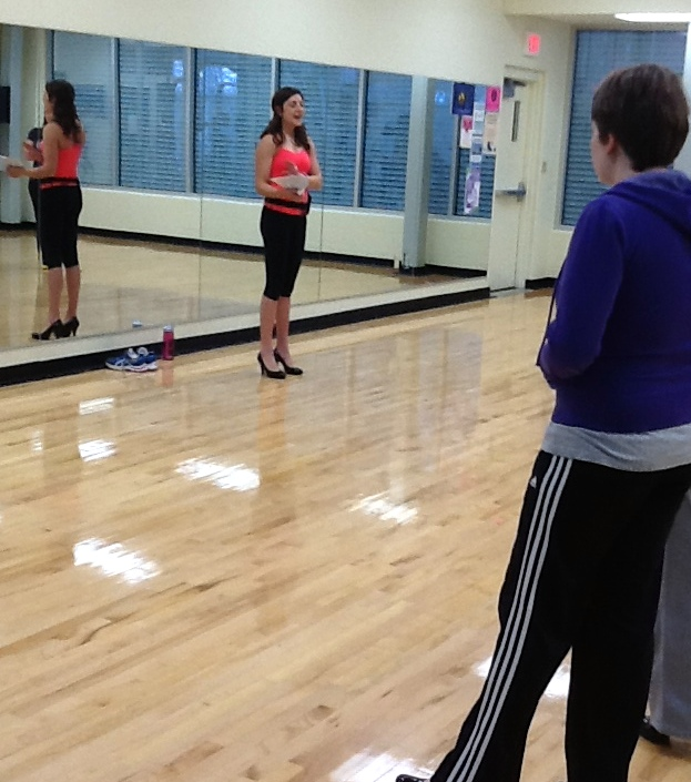 high heels workout
