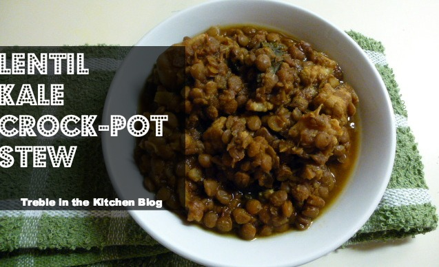 lentil kale curry crock pot text
