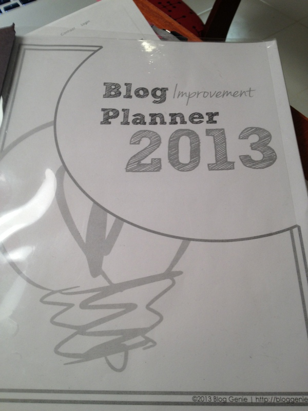 blog improvement challenge