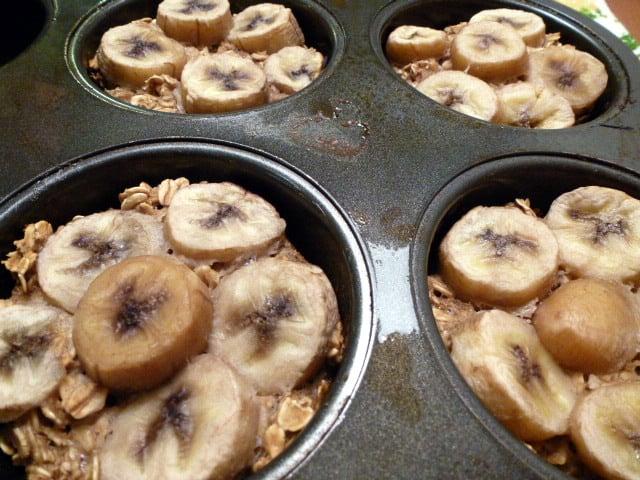 banana breakfast cakes
