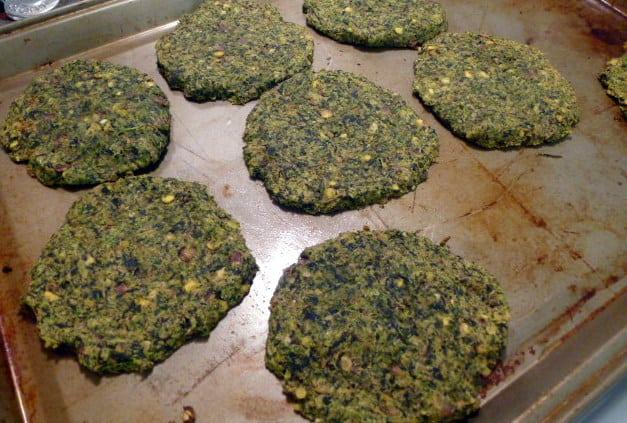 lentil spinach greek burgers 3