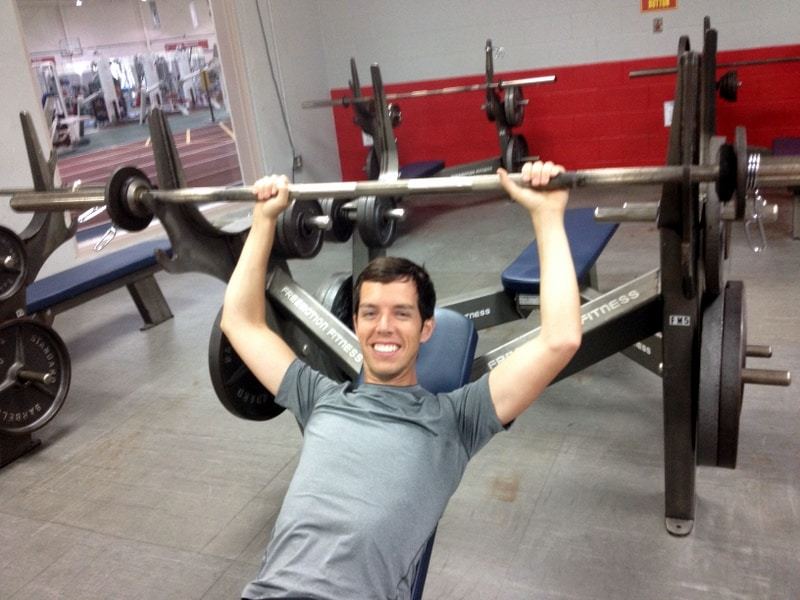 brian working out