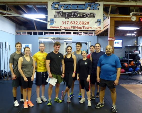 My First Crossfit Class