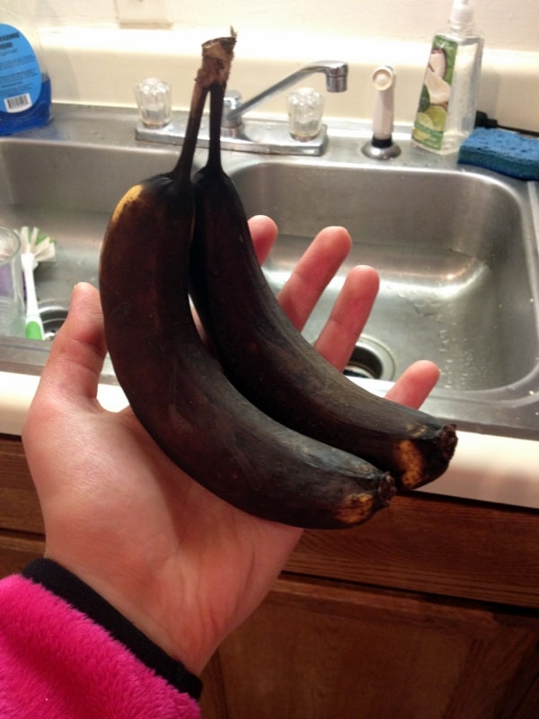dead bananas