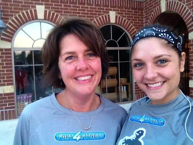 half marathon with mom 2