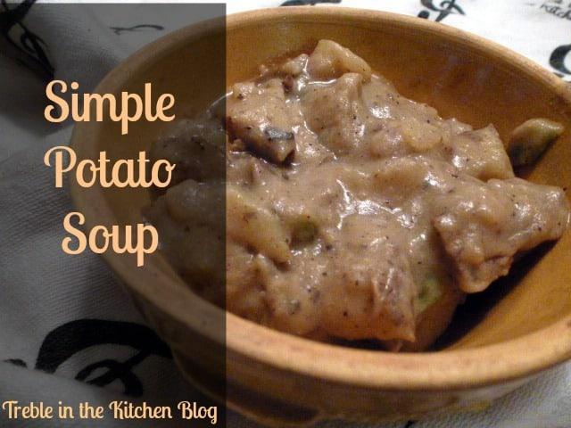 potato soup text
