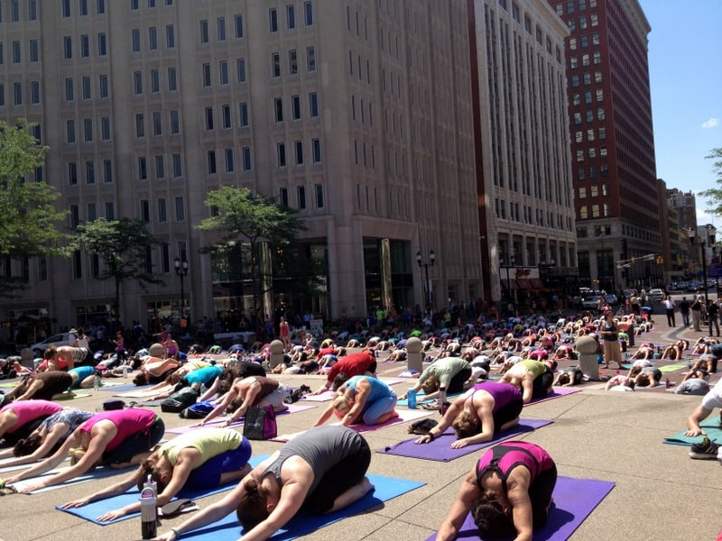 summer solstice yoga