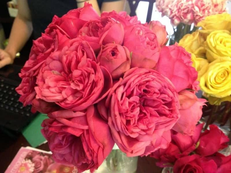wedding sample bouquet