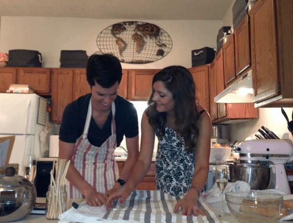 Italian Dinner Making