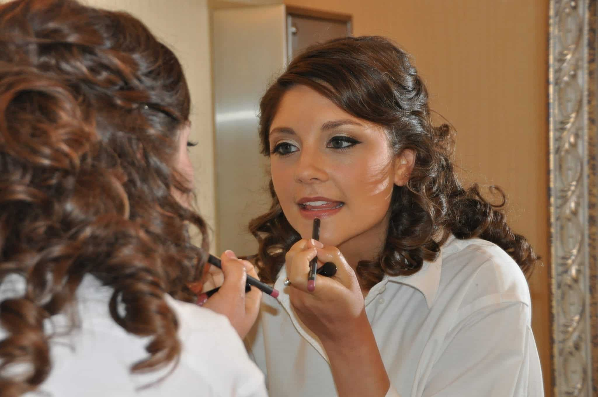 wedding getting ready