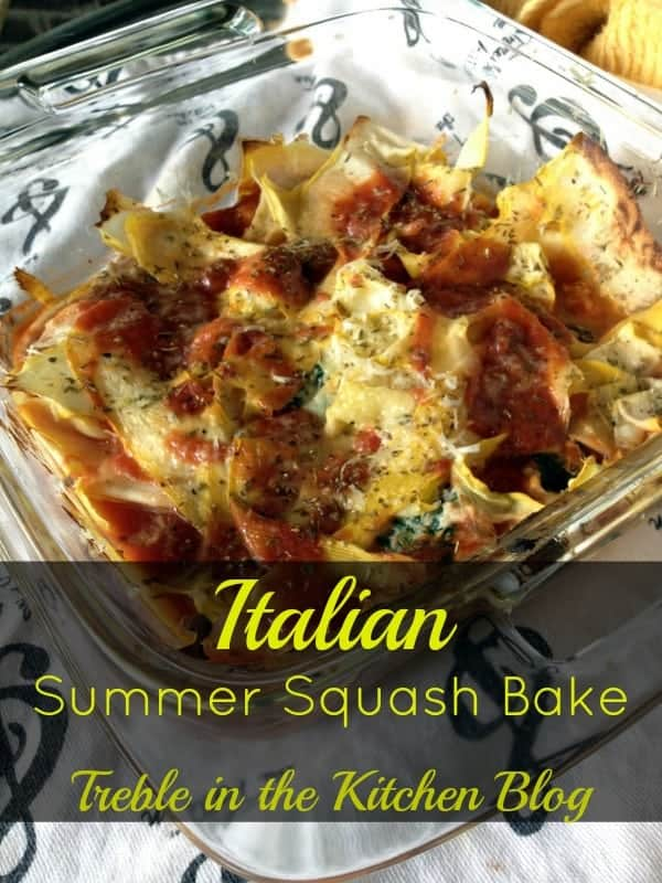 Italian Summer Squash Bake text