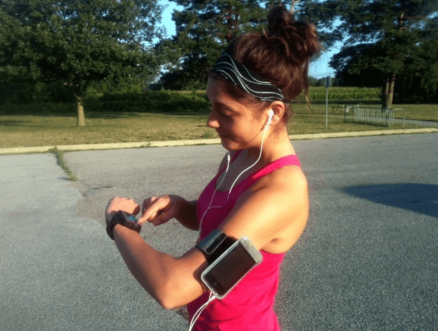 ipod arm band running