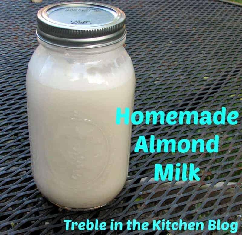 almond milk text