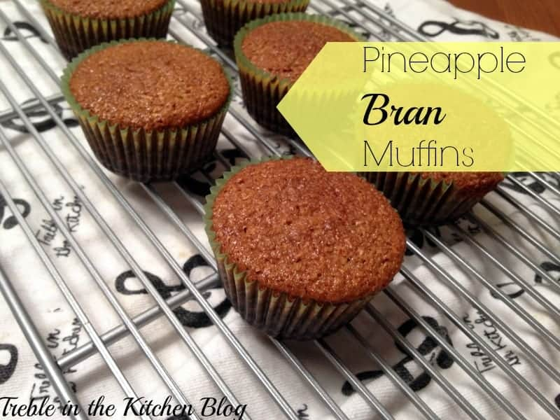 fruitful pineapple bran muffins text