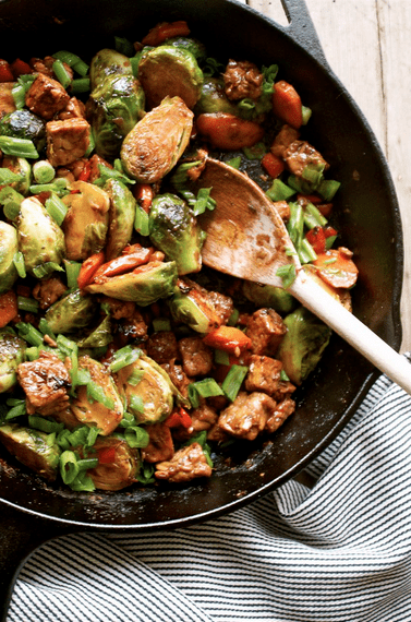 pinterest brussel tempeh stir fry