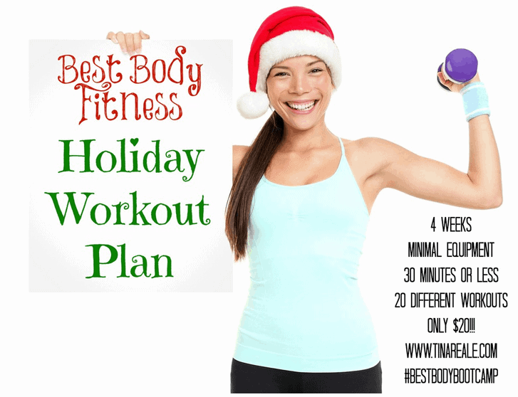 best body fitness holiday plan