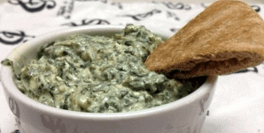 Greek yogurt spinach dip