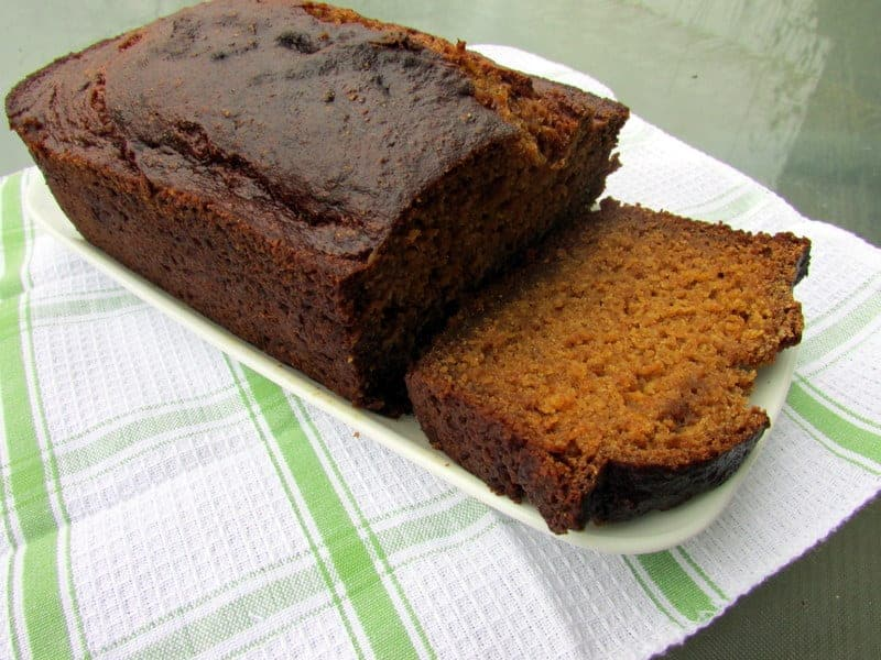pumpkin tofu bread 1