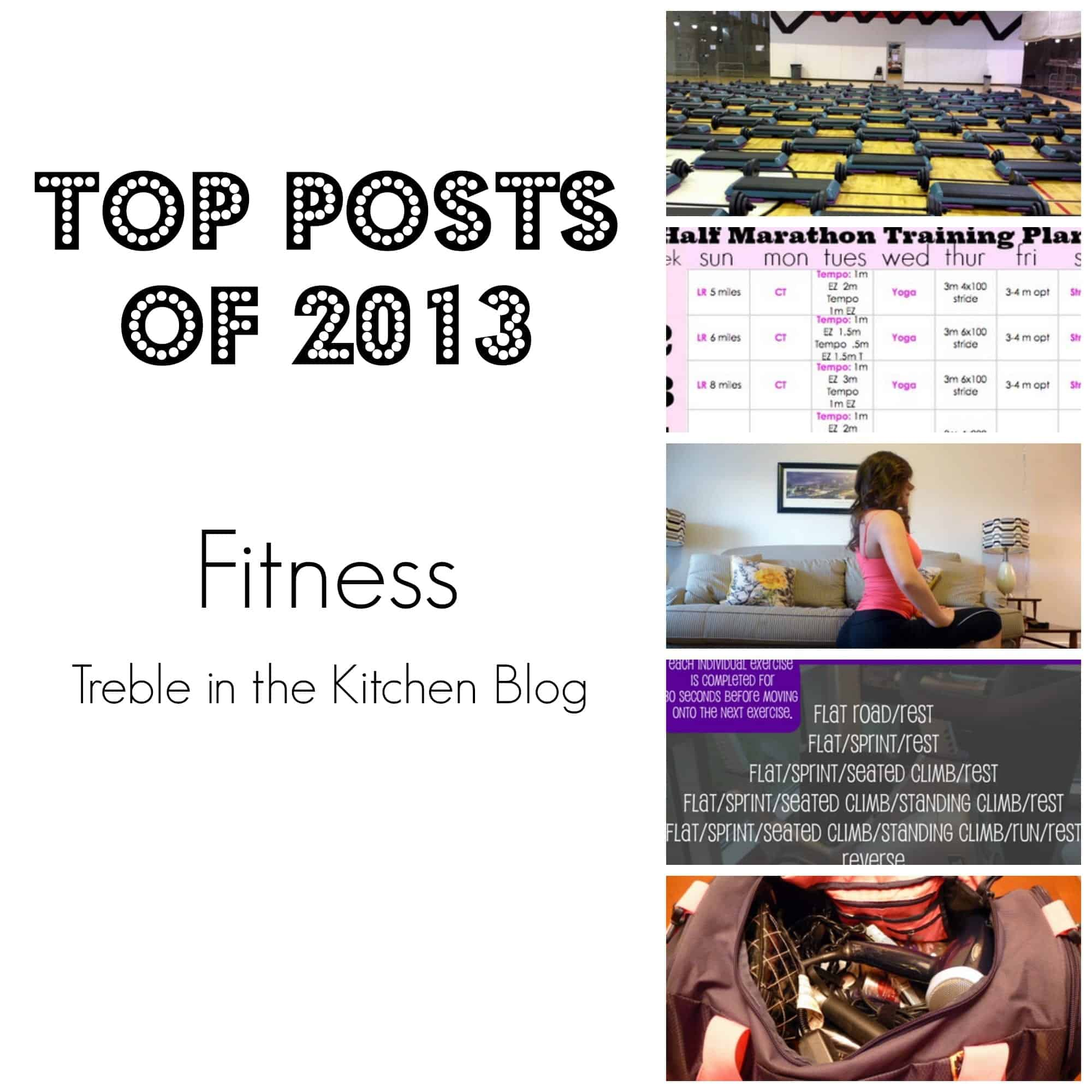 Top Posts Fitness via Treble in the Kitchen Blog