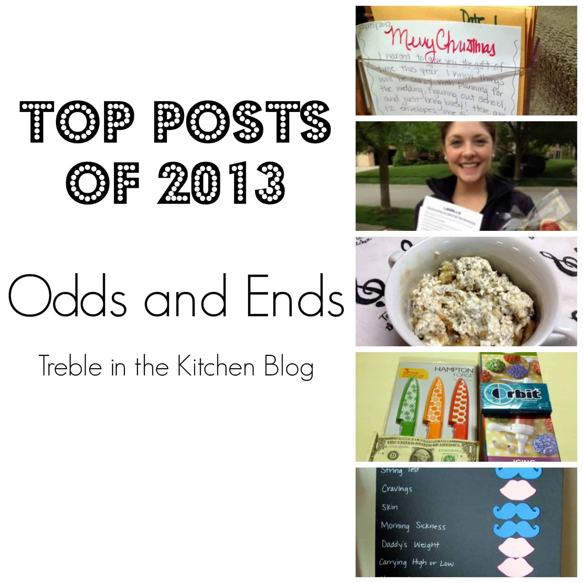 Top Posts Odds and Ends via Treble in the Kitchen Blog