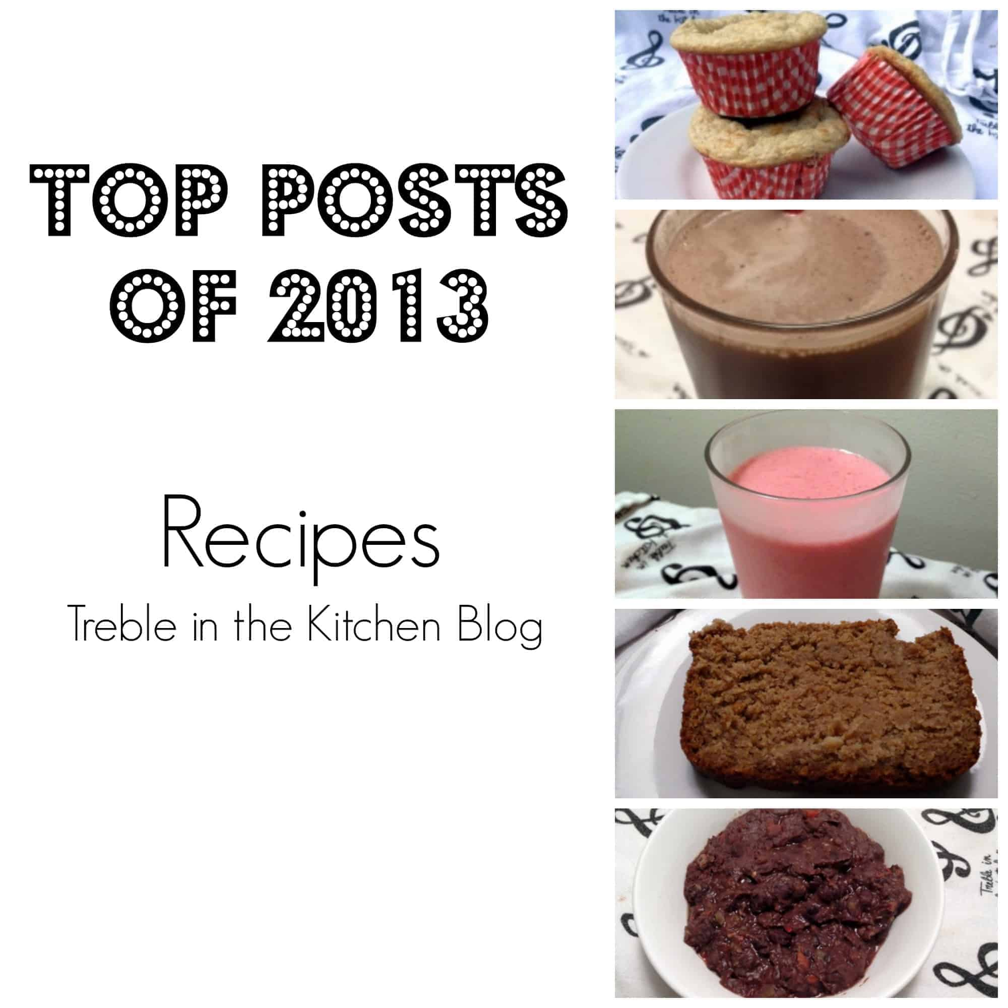 Top Posts Recipes via Treble in the Kitchen Blog