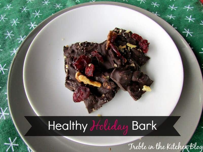 holiday bark via treble in the kitchen