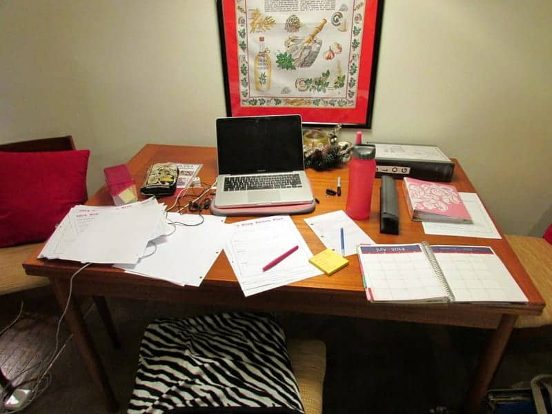 blog work