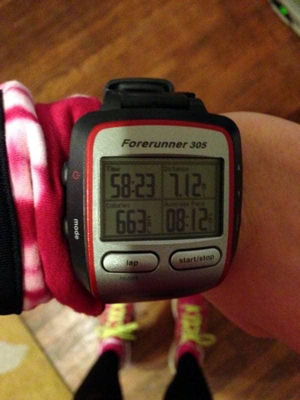 7 mile run