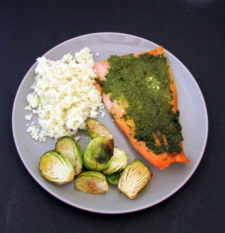 kale pesto salmon 3