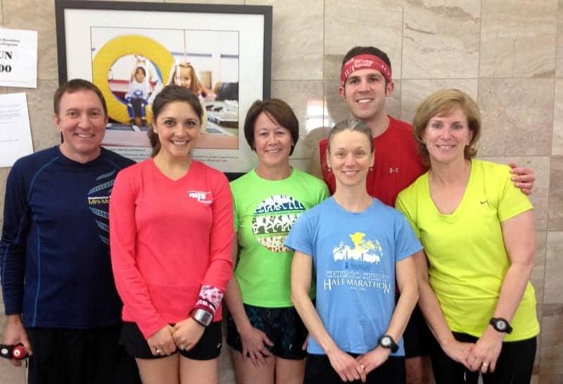 run group mini marathon
