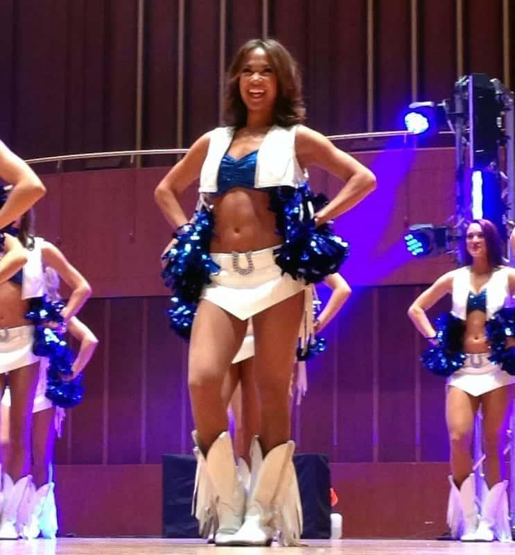 colts cheer showcase