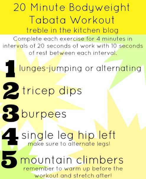 20 minute bodyweight tabata workout via treble in the kitchen.jpg