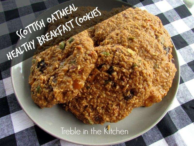 Scottish Oatmeal Healthy Breakfast Cookies