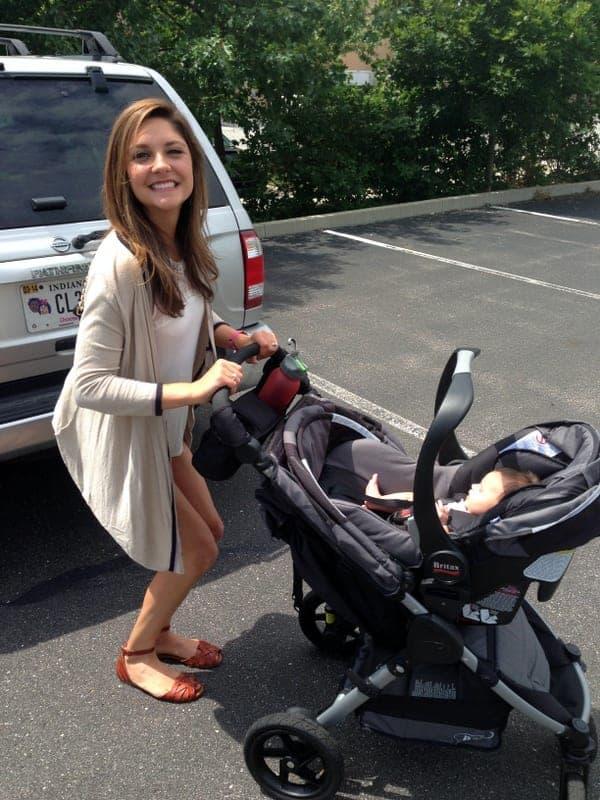 tara with baby emma