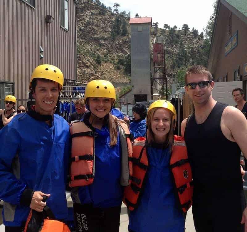 Denver white water rafting