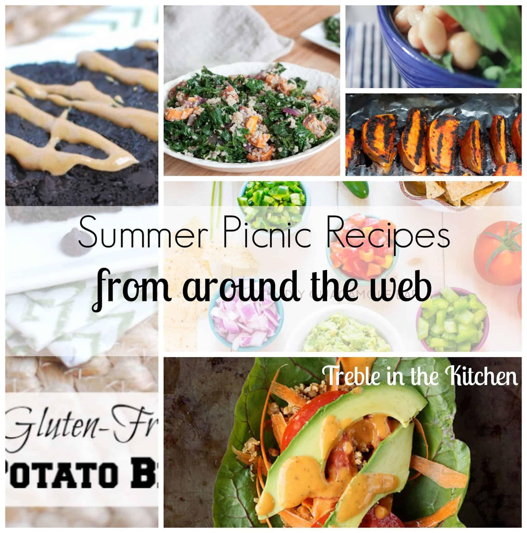 summer picnic recipe roundup