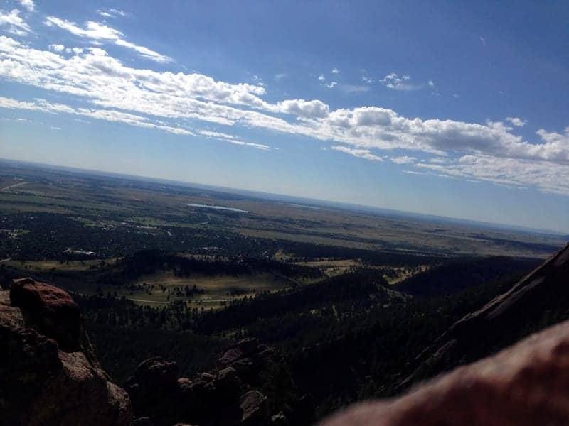 flatirons hike boulder