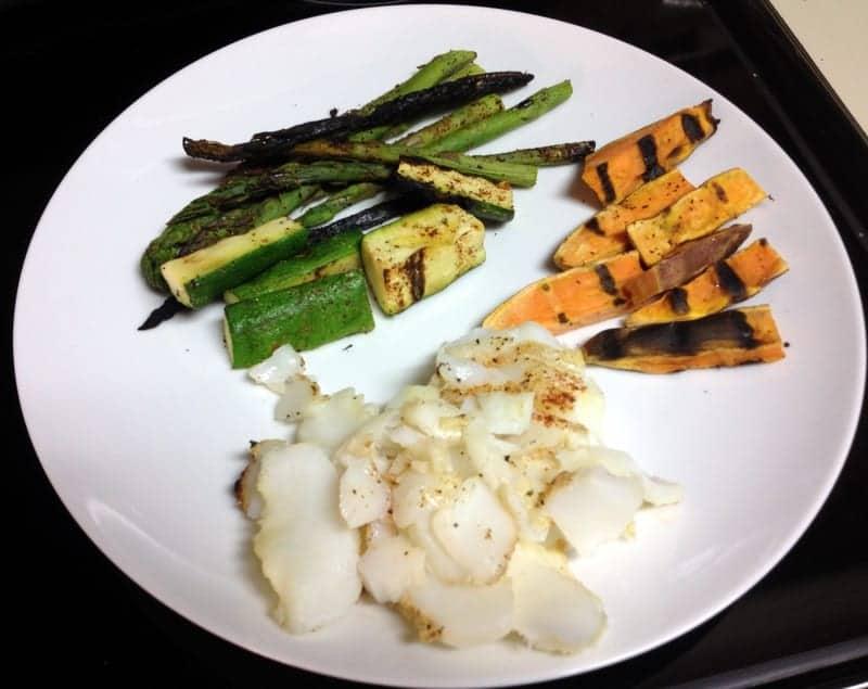 grilled dinner