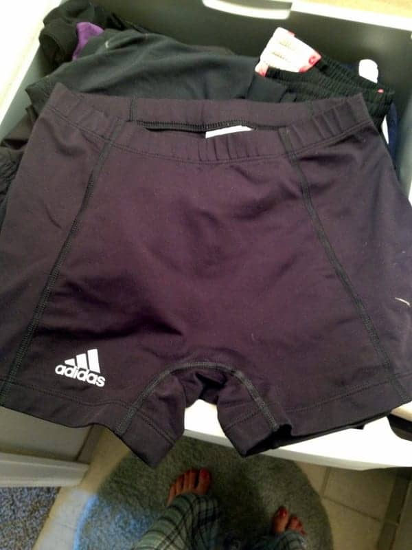 workout shorts