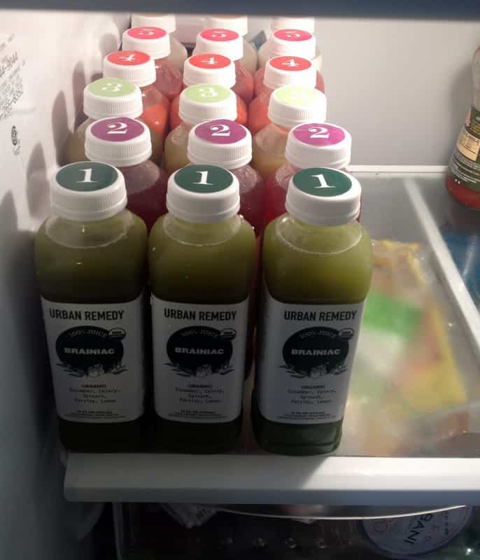 Urban Remedy Juice Cleanse