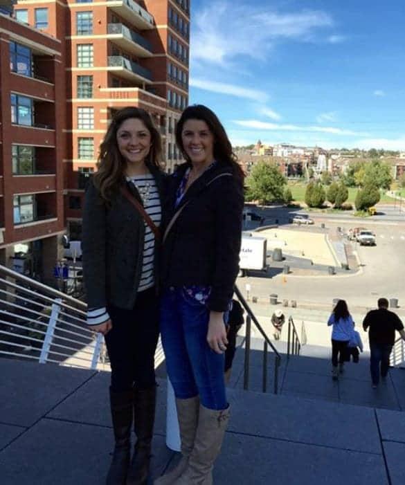Tara and Amanda