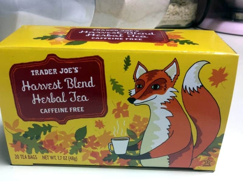 Trader Joe's Fall Tea