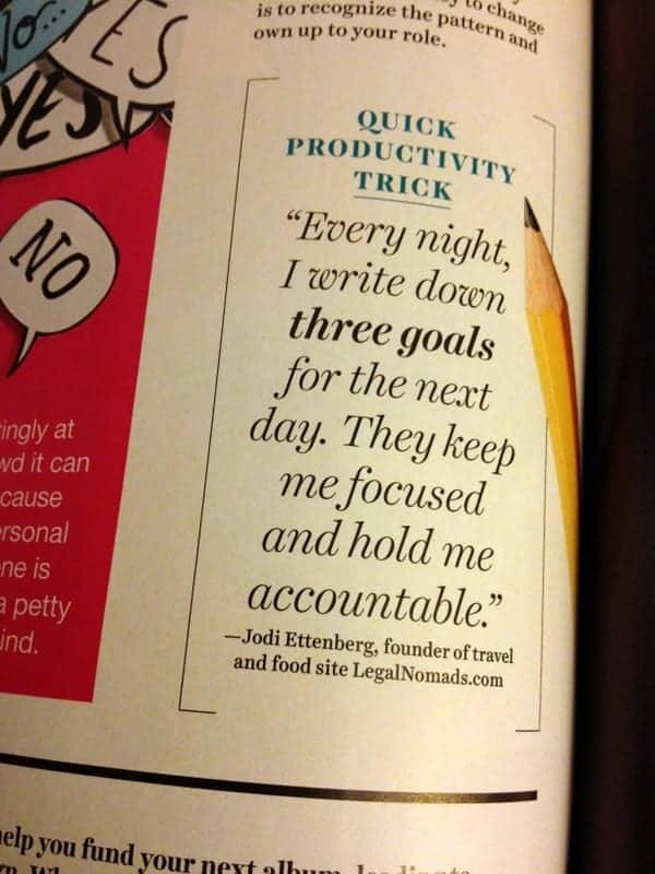 Goals - Inspiration